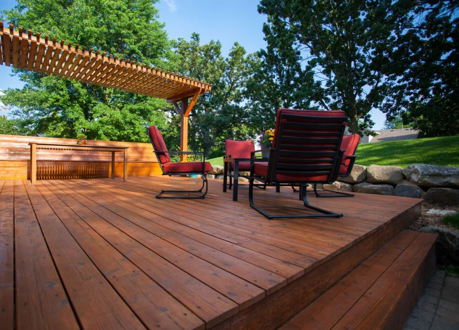 Deck Staining by Watson's Painting & Waterproofing Company