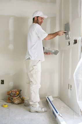 Drywall repair in Glen Ridge, FL by Watson's Painting & Waterproofing Company.