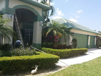 Repainting of Home In Palm Beach FL