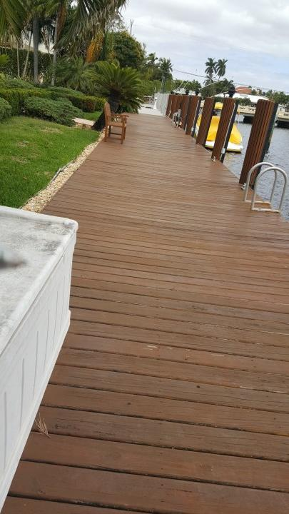Deck Staining in Boca Raton FL