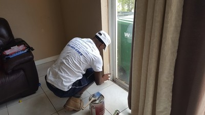 Baseboard painting by Watson's Painting & Waterproofing