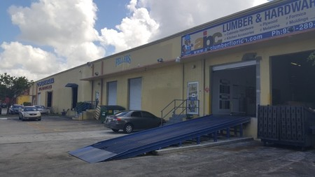 Exterior Warehouse Painting in Hollywood, FL