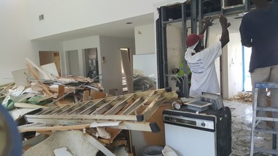 Interior Demolition before Remodel Weston FL