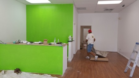 Interior Accent Wall Painted