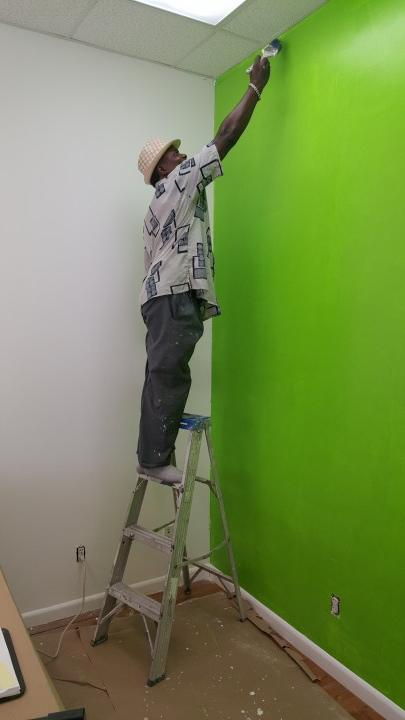 Interior Painting performed by an experienced Watson's Painting & Waterproofing Company painter.