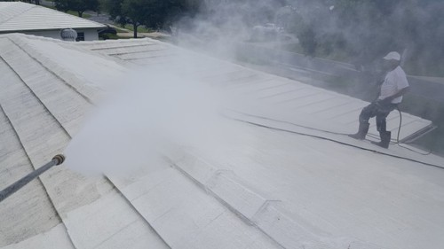 Pressure Washing Roof FL