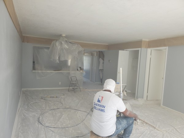 Interior Painting and Popcorn Removal in Boca Raton, FL (1)