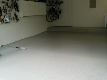 Epoxy Coating of Garage Floor in Light House Point, FL