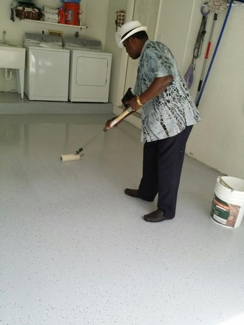 Epoxy Floor Coating in Boynton Beach, FL