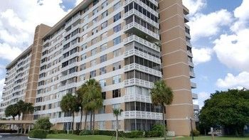 Exterior Painting of a 15-story Building in Deerfield Beach, FL