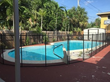 Staining of Pool Deck Surroundings in Pompano Beach, FL