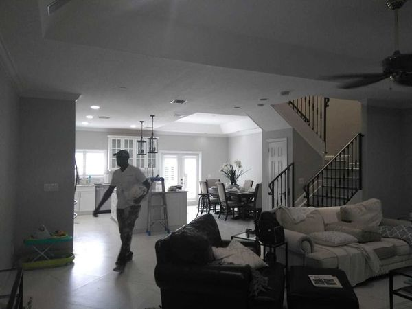 Interior Painting of Family Home in Broward County, Fl (1)