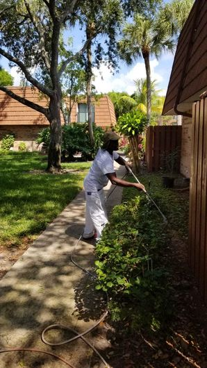 Fence Repainting in Lake Worth, FL (2)
