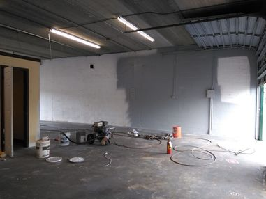 Interior Repainting of Warehouse Floors and Walls in Palm Beach Florida (2)