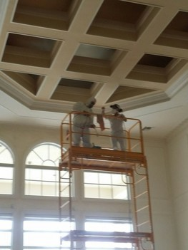 Interior painting in Minet West, Florida