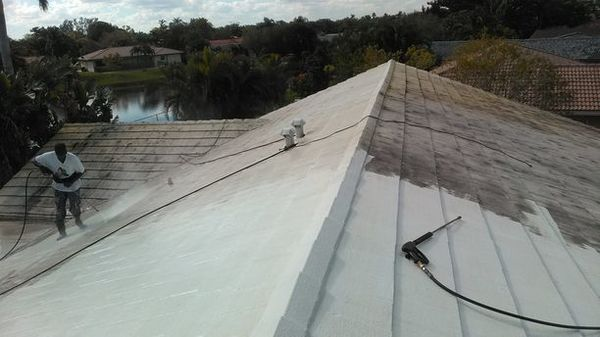 Roof coating in Coral Springs , Fl (1)