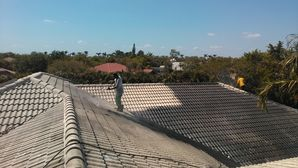 Roof Pressure Washing and Recoating in Miami, FL (2)