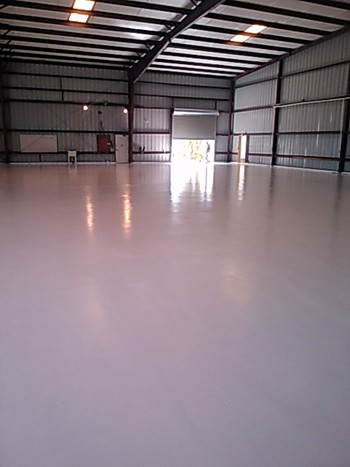 Epoxy Coating in Boynton Beach, FL Airport