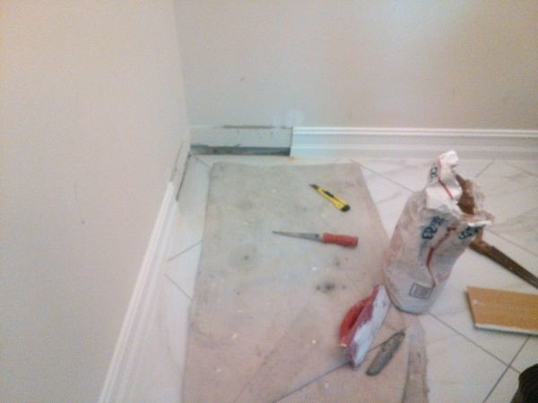 Repairing of Baseboard & Sheetrock in Plantation, FL (1)