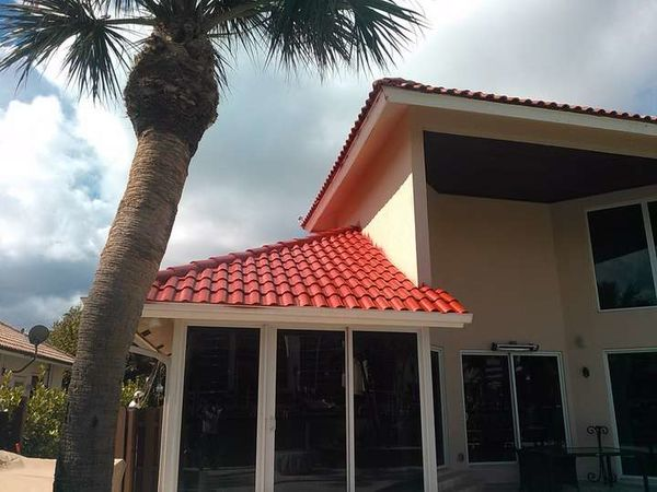 Pressure Washing and Roof Painting in Palm Beach, FL (1)