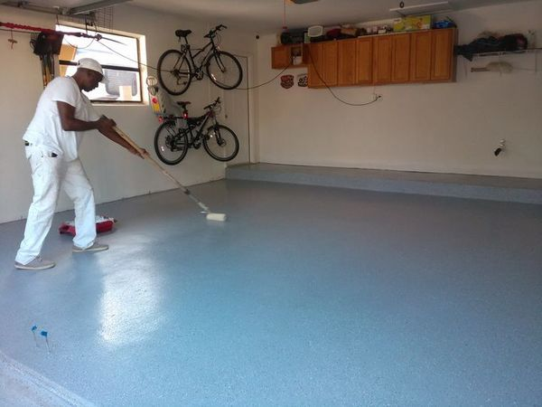 Garage Floor Epoxy Coating in Weston, FL (1)
