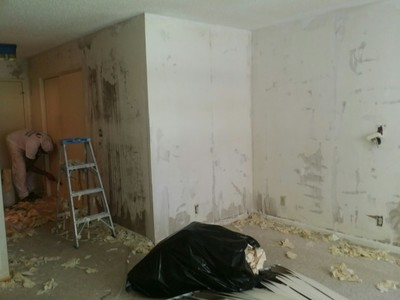 Removal of total Wallpaper in Margate, FL
