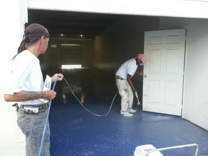 After Garage Floor Painting in Fort Lauderdale, FL
