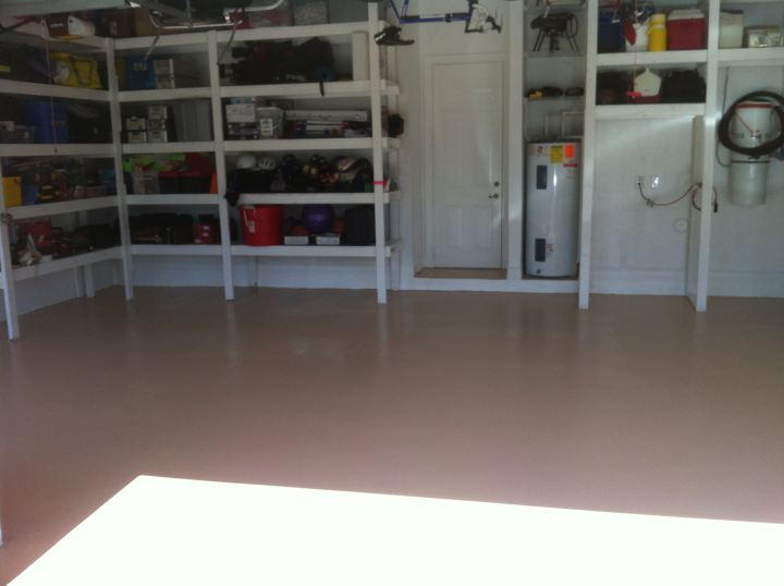 garage floor painting in coral springs fl