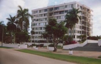 Commercial Painting of mid rise Apt complex in Fort Lauderdale, FL