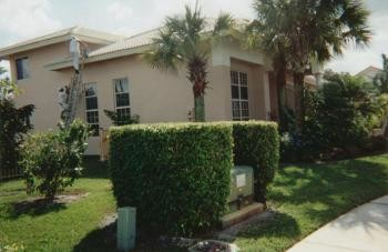 Exterior Commercial Painting in a community of 50 homes in Boca Raton, FL