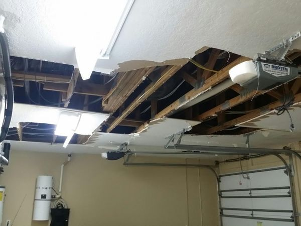 Repairing damaged ceilings & Repainting in Corials Springs, FL