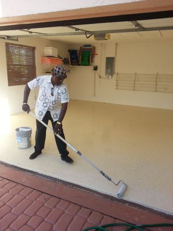 Garage Floor Painting in FL by Watson's Painting & Waterproofing Company in Palm Beach, FL