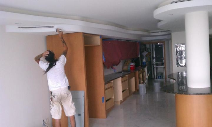 Interior Painting of condo in Hollywood, FL